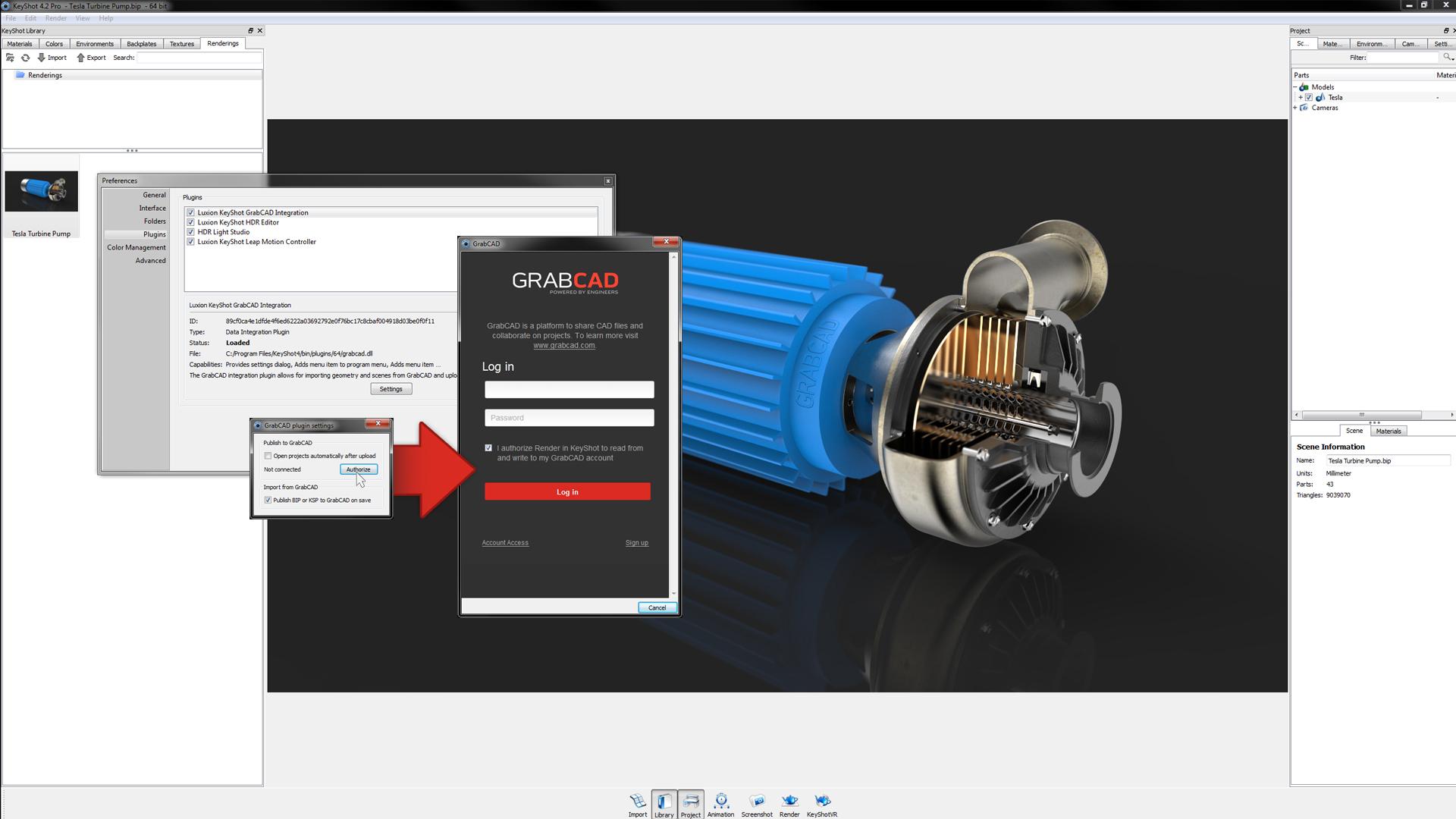 GrabCAD | KeyShot