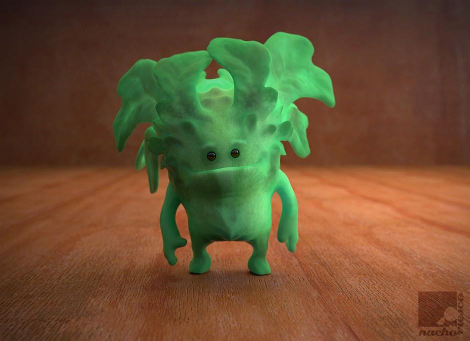 character-nacho-riesco-keyshot-lettuce-goblin