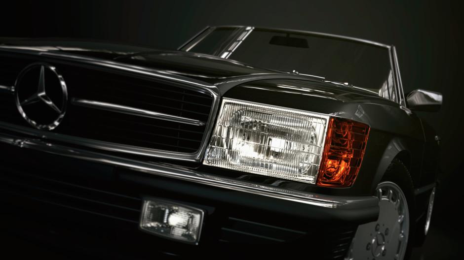 Tim-Feher-KeyShot-Mercedes-SL-R107