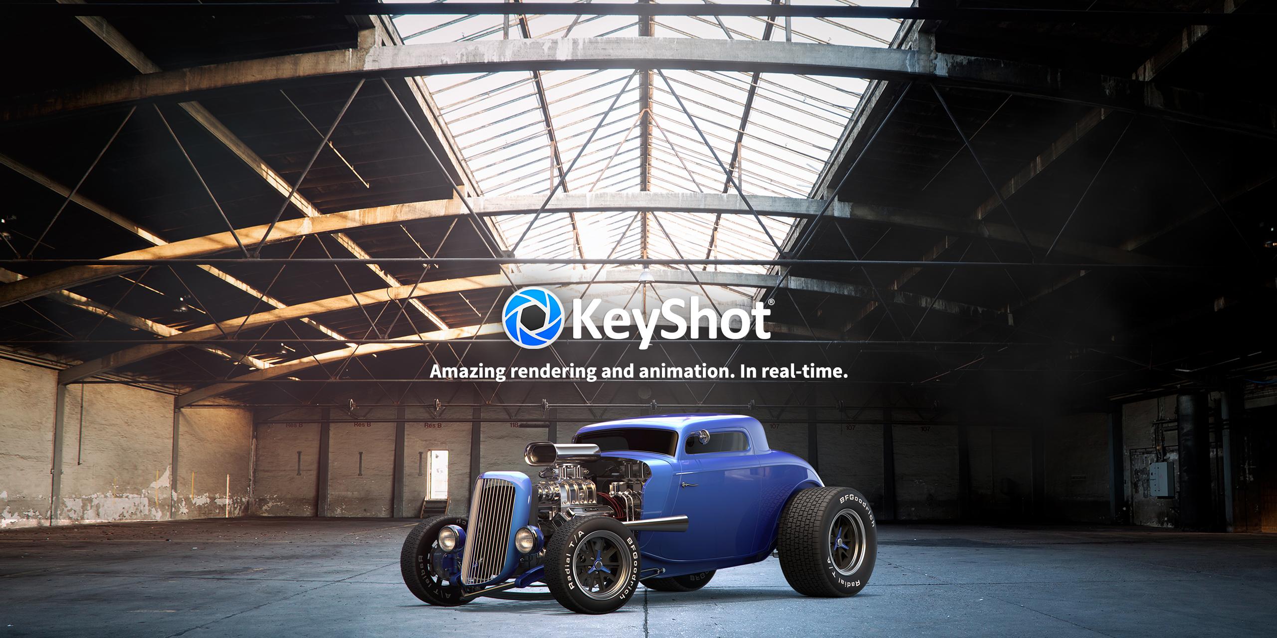 Features Keyshot