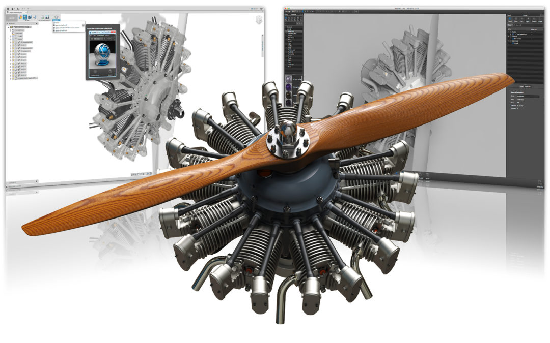 Luxion Releases New Plugins for Autodesk Fusion 360, Revit 2017, 3ds