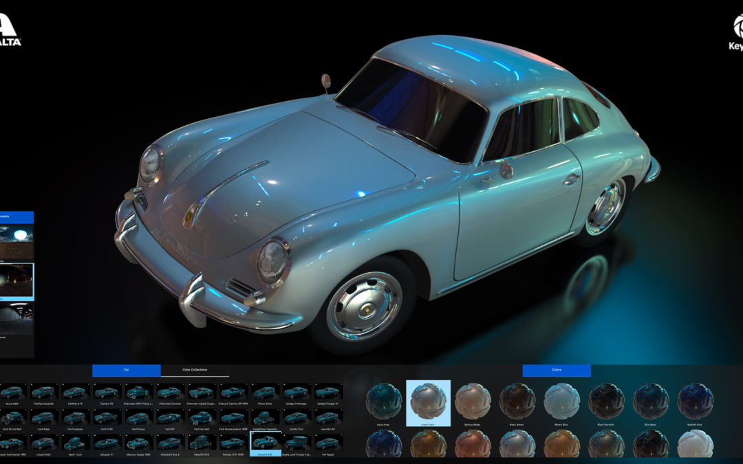 Axalta Color Configurator Powered By KeyShot Real-time Rendering Technology