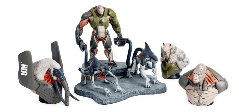 Leo Halsam 3D Creature Prints