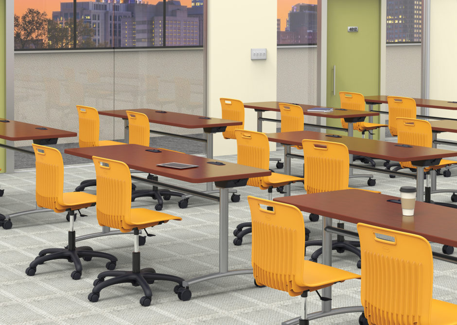 Virco seating KeyShot
